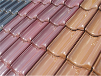 Roof Tile Colour Range