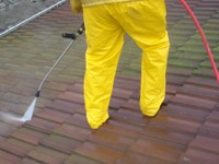 Tile Roof Pressure Cleaning