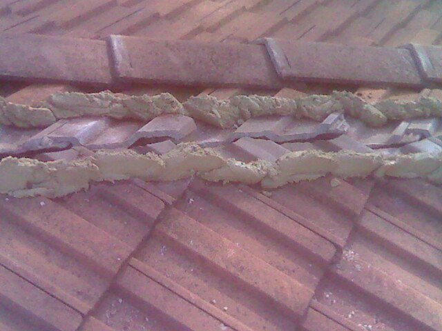 Re-Bedding Roof I