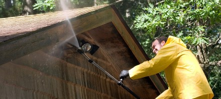 Roof Eave Cleaning