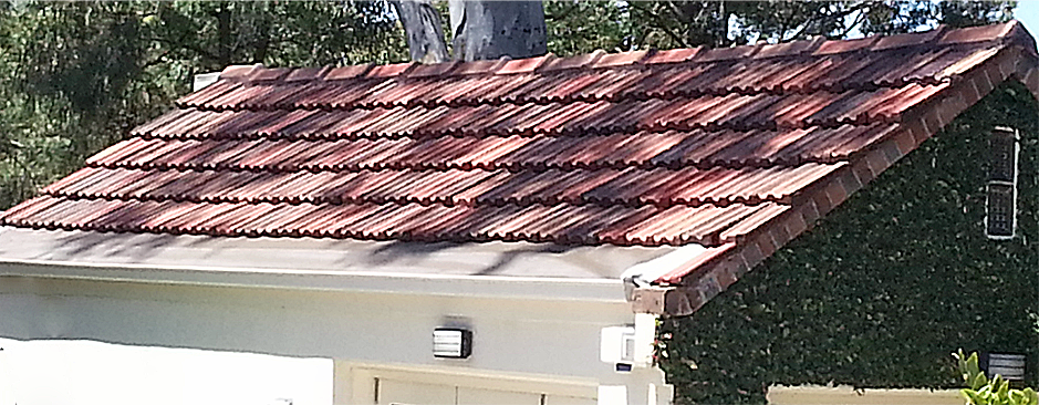 Terracotta Tile Roof Demoss And Clean Toorak Melbourne